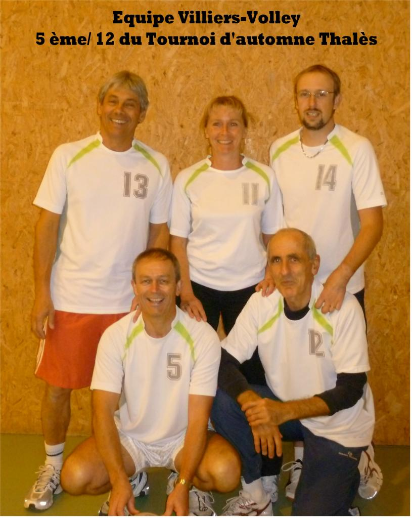 Equipe Volley Villiers